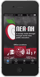 NEA New Hampshire iPhone App