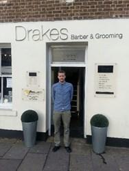 Drakes of London Master Barber Phil Reader