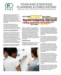 CFO Edge - Strategic Planning & Forecasting Brief