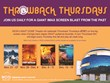 MOSI's IMAX DOME Theatre Hosts Throwback Thursdays (#TBT) with IMAX...