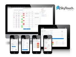 SkyTouch mobile