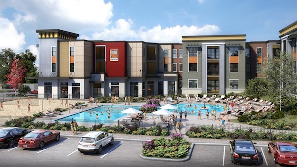 319 Bragg Student Housing Community Will Offer Premium