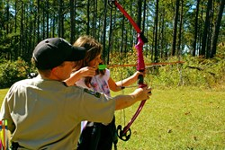Archery Instruction at Georgia State Parks