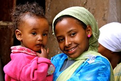 PMC photo of children in Ethiopia
