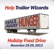 Trailer Wizards Launches 'Haul Away Hunger' Holiday Food Drive in...