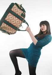 Dandelion duffel bag
