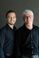 Kelowna dentists Evan Wiens and Ian Leitch