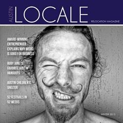 LOCALE Austin, Winter 2013 Cover Art