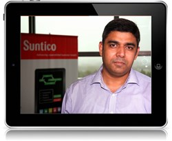 Jawad Mobin, Head of R&D at Suntico Ipad