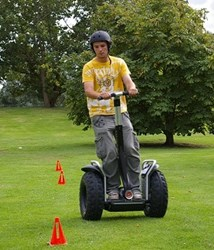 The Off_Road Segway Challenge at Lane End Conference Centre