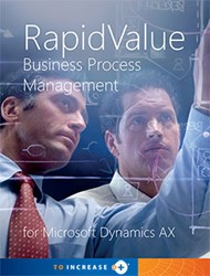 Value-Driven BPM for Microsoft Dynamics AX