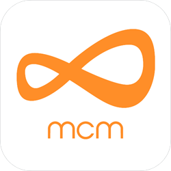 Menstrual Cycle Monitor (MCM) app icon