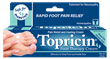 Topricin Foot Therapy Cream soothes and relieves tired, achy, swollen feet, ankles, legs, and knees