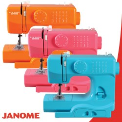 The Derby Line of Sewing Machines by Janome