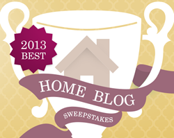 Best Home Blog for 2013 Based on Popular Vote