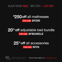 Amerisleep Holiday Deals on Memory Foam & Adjustable Beds Just Released