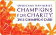 Americana Manhasset to Host Champions for Charity®