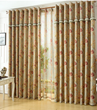 Splendid Energy Saving Polyester Floral Curtains of Lace