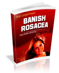 get rid of rosacea how banish rosacea