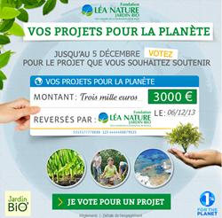 Vos projets pour la Planète