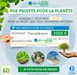 Jardin BiO' reverse 3.000 € sur Facebook à une association...