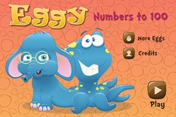 Eggy Numbers to 100 App for iPad and iPhone