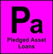 Symbol for Pledged Asset Loans at MortgageElements.com