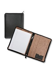 Soft Pebbled Leather Padfolio