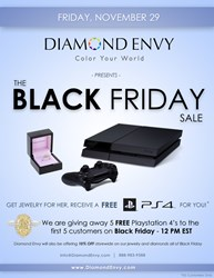 Black Friday: Free PS4 with Jewelry