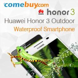 Huawei Honor 3 waterproof smart phone