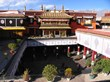 Magnificent Jokhang Temple is the holy center of Lhasa.