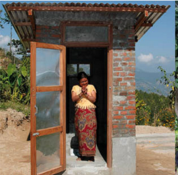Nepal toilets,sanitation in Nepal,disease in Nepal,building toilets in Nepal,hygeine in Nepal