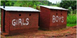 boys and girls toilets in Nepal,separate toilets at schools,girls toilets at Nepal schools