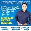 First Ever Podcast for Interactive Print (QR Codes, Augmented Reality,...