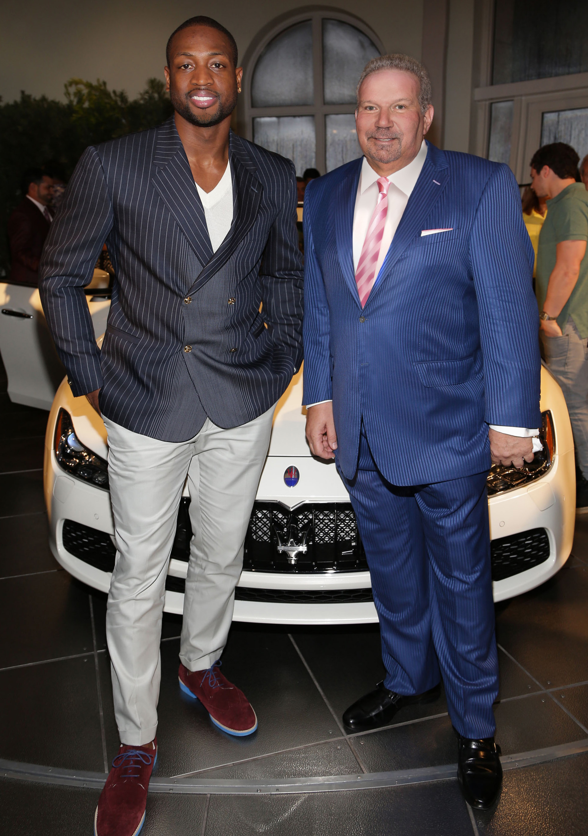 The Collection Maserati and Dwyane Wade Unveil The All-New ... |Dwyane Wade Cars Collection