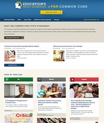 LouisianaCommonCore.org Screenshot