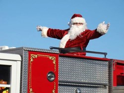 Santa Clause is coming to Petersburg! He'll be stopping by the annual Petersburg Christmas Parade, taking place on Saturday, Dec. 14, 2013 at noon.