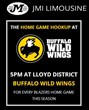 The Home Game Hookup from Buffalo Wild Wings & JMI Limousine is...