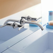 moen ts41706 wall mount bathroom faucet from the fina collection