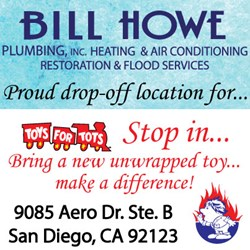 san diego plumber proud to host toy drop off