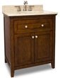 Chatham Shaker Vanity from Jeffrey Alexander VAN090-30-T