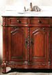 "James Martin Solid Wood 72"" Merryton Bathroom Double vanity with a Countertop 206-001-5503"