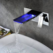 Sumerain S1289CM Waterfall Bathroom Sink Faucet