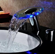 Sumerain S1356CM LED Bathroom Sink Faucet