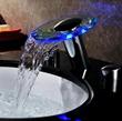 Sumerain S1356CM LED Bathroom Sink Faucet