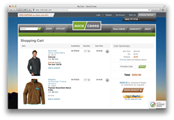 Simply choose PayPal at checkout