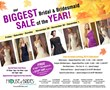 House of Brides' Biggest Bridal and Bridesmaid Sale of the Year Draws...