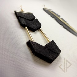 Command. Earrings by Second Life Celebrity Joi Price