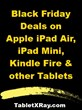 iPad Black Friday 2013 Deals: Up to $150 Discounts on iPad Air, Mini...