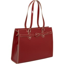 The Jack Georges Milano Edge Collection Alexis Leather Business Handbag for Women